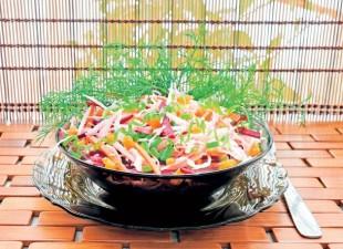 Ljuta kupus salata