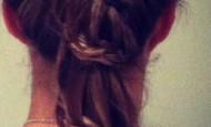 Ženske frizure: Pletenica sa repom