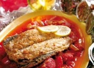 Riba na paradajzu