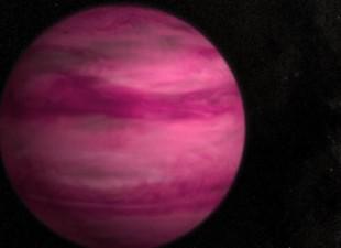 Okrivena roze planeta