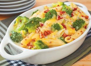 Zapečeni makaroni sa brokolijem