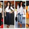 Poznate dame u belim košuljama