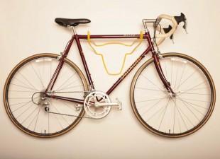 Bicikl možete čuvati na zidu