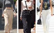 Široke pantalone visokog struka – hit ovog leta!