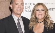 Tom Henks i Rita Vilson se vratili u SAD