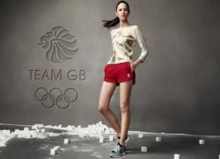 Danijela Dimitrovska u kampanji za Adidas OI 2012.