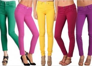 Kako da uklopite džins u boji (video)
