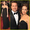 Angelina Jolie i Brad Pitt u crnom