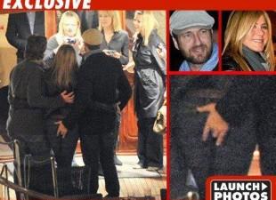 "Džerard Batler "" zgrabio"" zadnjicu Dženfer Aniston"