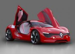 Automobili: Renault DeZir Gullwing Coupe
