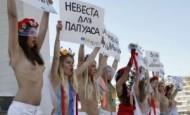 Ukrajinke golim grudima u borbi protiv seks turizma