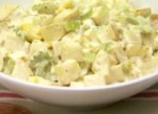 Pikantna krompir salata sa pavlakom