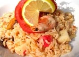 Rižoto od morskih plodova