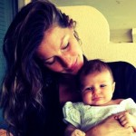 Žizel sa ćerkom Vivijen Lejk