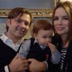 Severina i Milan sa sinom