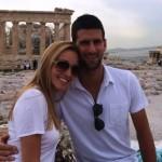 Jelena i Nole u Atini