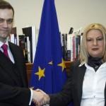 Borislav Stefanović i Edita Tahiri