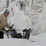 Evropa u snegu