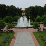 Fontana u parku