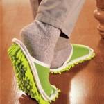 Zelene sobne papuče